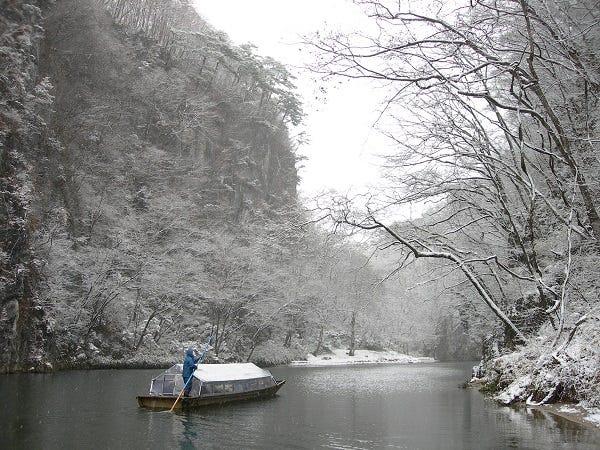 いび 舟 下り 渓 げ