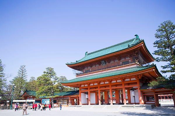 見どころ 平安 神宮