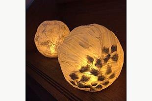 【金沢|工芸に触れるものづくり】手漉き和紙・石川まゆみさんの和紙でつくるランプシェード♪