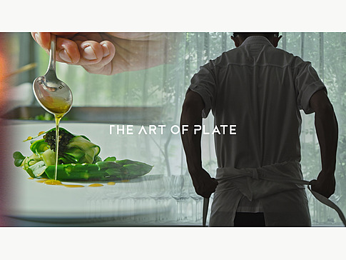 THE ART OF PLATE Amazon primeで配信中