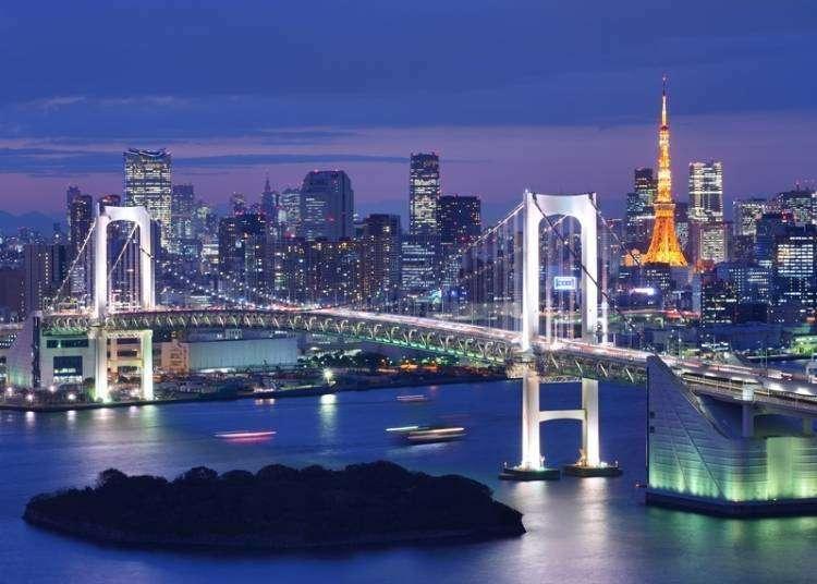 도쿄 야경을 즐길 수 있는 장소 5곳! 도쿄도청 전망대를 시작으로...