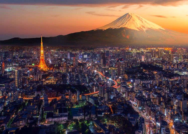3 จุดที่สามารถมองเห็นภูเขาไฟฟูจิได้จากโตเกียว