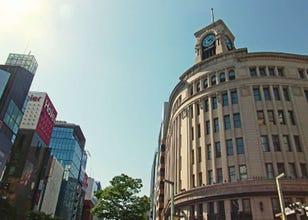 Three Great Photo Spots in Ginza and Tsukiji