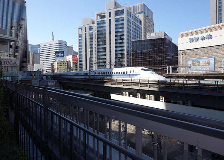 拍攝新幹線