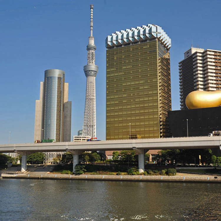 The Surroundings of Azuma-bashi Bridge