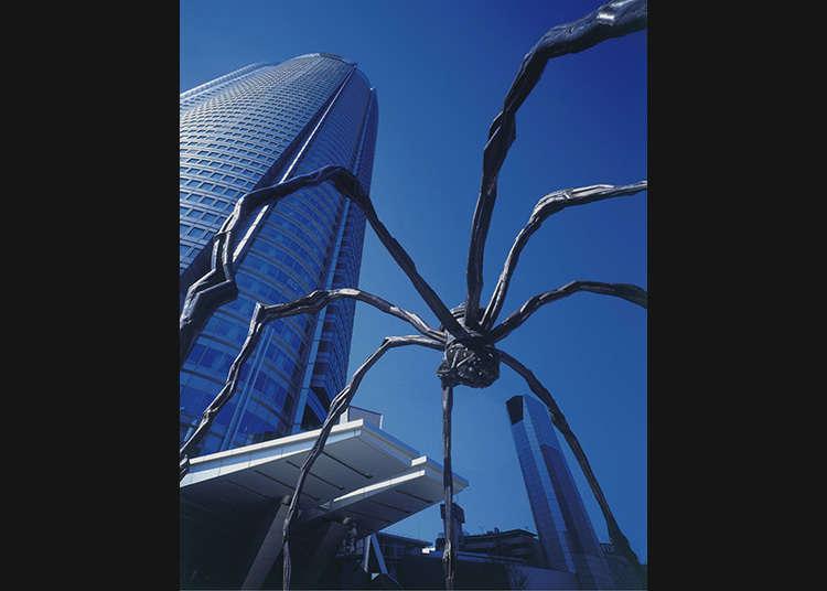 Laba-laba yang Menarik Perhatian di Roppongi Hills