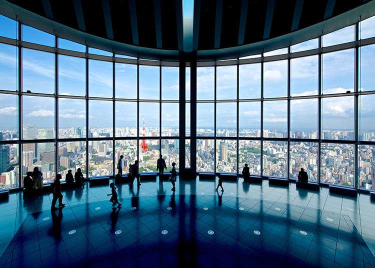 หากจะชมวิวโตเกียว360องศาที่รปปงหงิก็ต้องเป็นที่นี่!