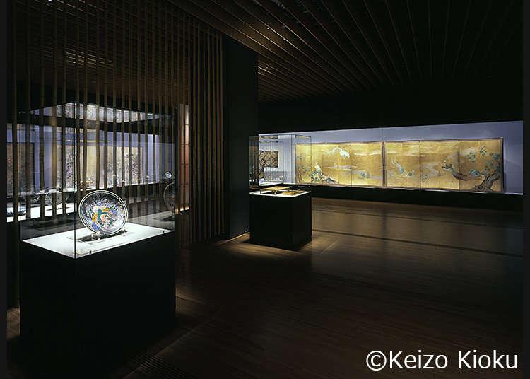 以日本美術為中心的多樣化特展「三得利美術館」
