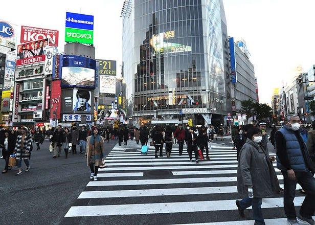 3 pilihan lokasi bergambar di Shibuya dan Harajuku
