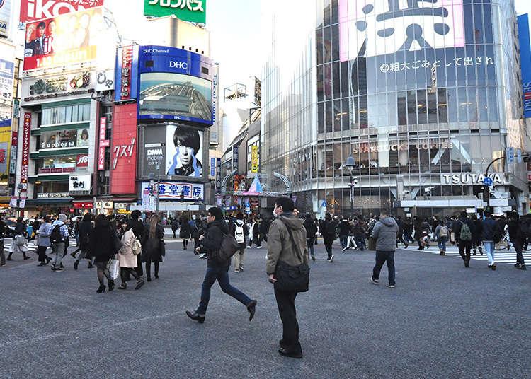 일본 최대 규모로 사람들이 왕래하는 모습을 볼 수 있다!