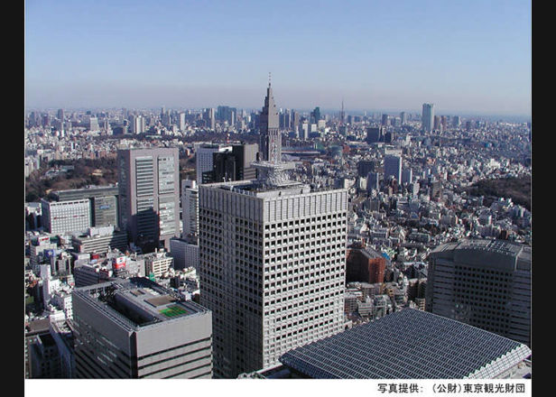 ตึกระฟ้า 3 แห่งในย่านตะวันตกของชินจูกุ (นิชิชินจูกุ)