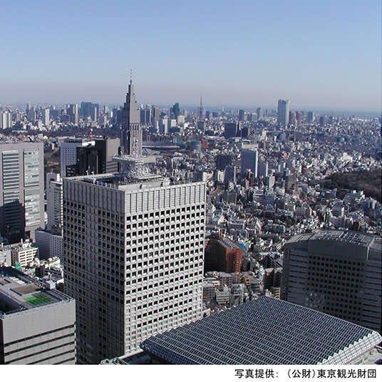 Three Skyscrapers to visit in Nishi-Shinjuku