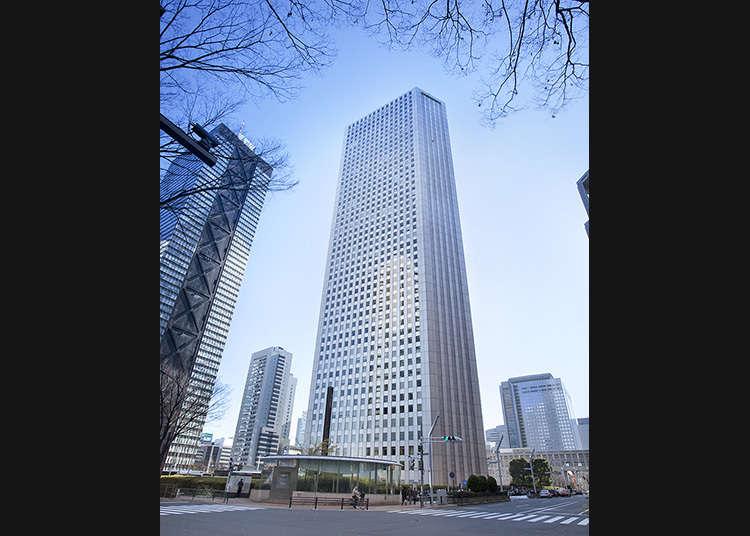 从三角大楼,眺望东京的景致吧