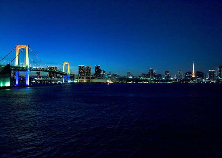 【芝浦】レインボーブリッジを歩こう