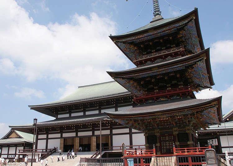 1000年以上の歴史を誇る成田随一の寺院