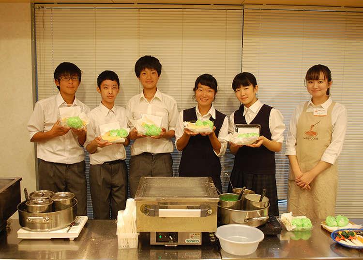 「食品サンプル製作体験」にチャレンジ
