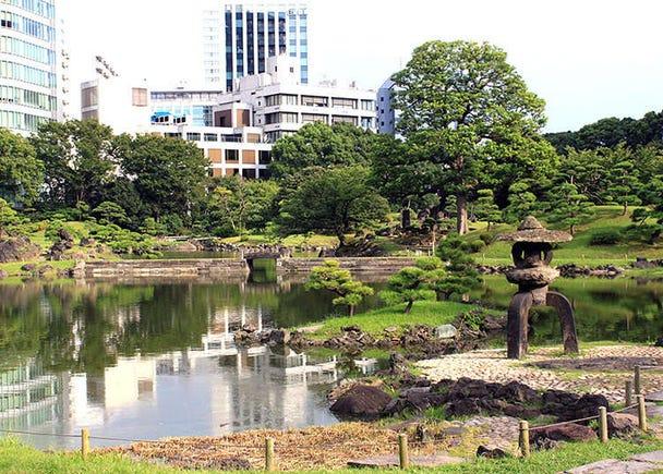 1 : Kyu Shiba Rikyu Garden