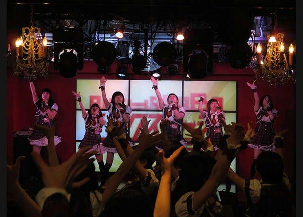 Get a Glimpse at Real Idols in Akihabara