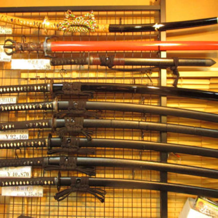 Get Replica Weapons from Anime and Games!