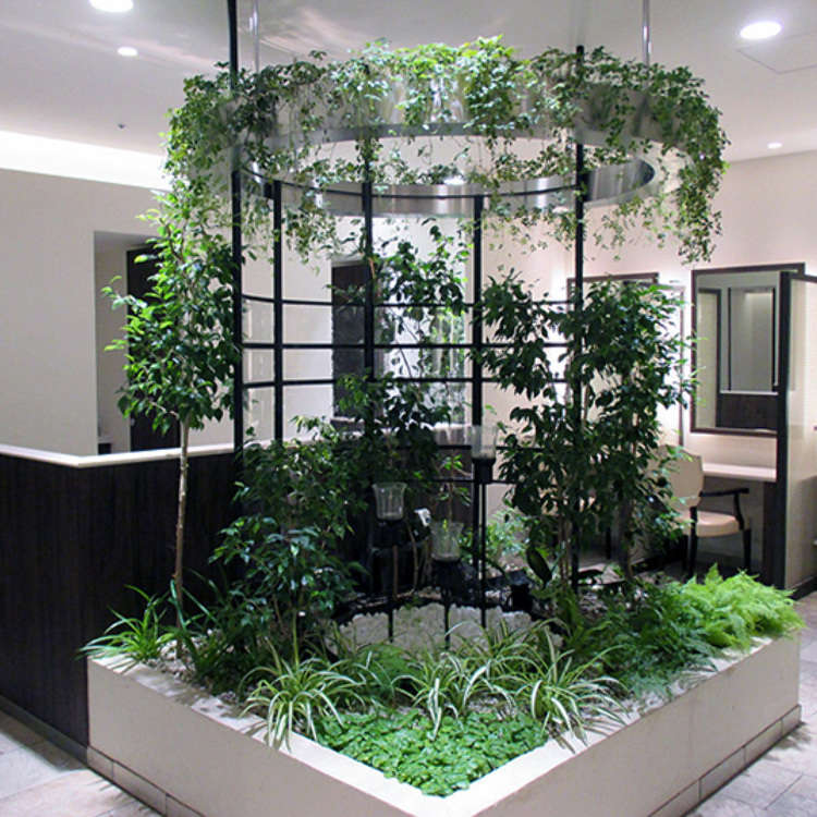 Shinjuku: Relaxing Space Filled with Water and Greenery