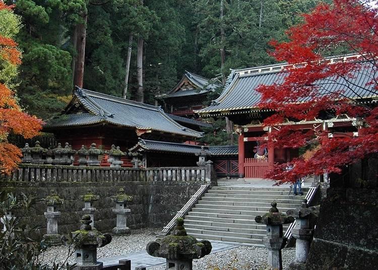 傳承千年歷史的日光山輪王寺