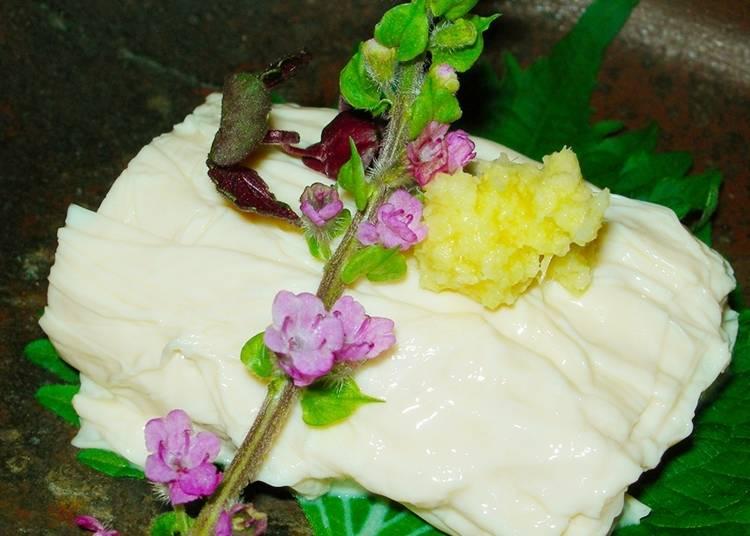 健康,好吃的當地特產—日光豆腐皮