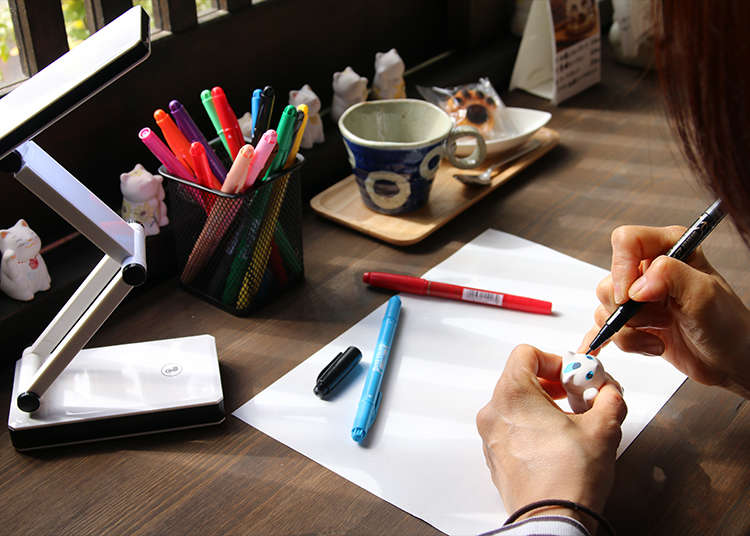 7. Paint While Eating Cake in Yanaka