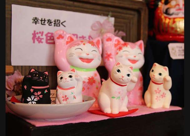 Jika disebut tentang Yanaka, semestinya kucing! Membeli barangan kucing