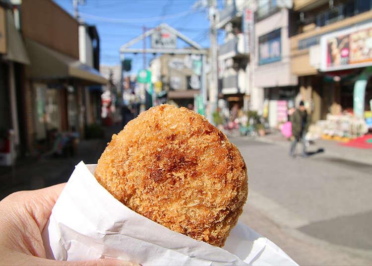 边吃边逛时最受欢迎的炸肉饼
