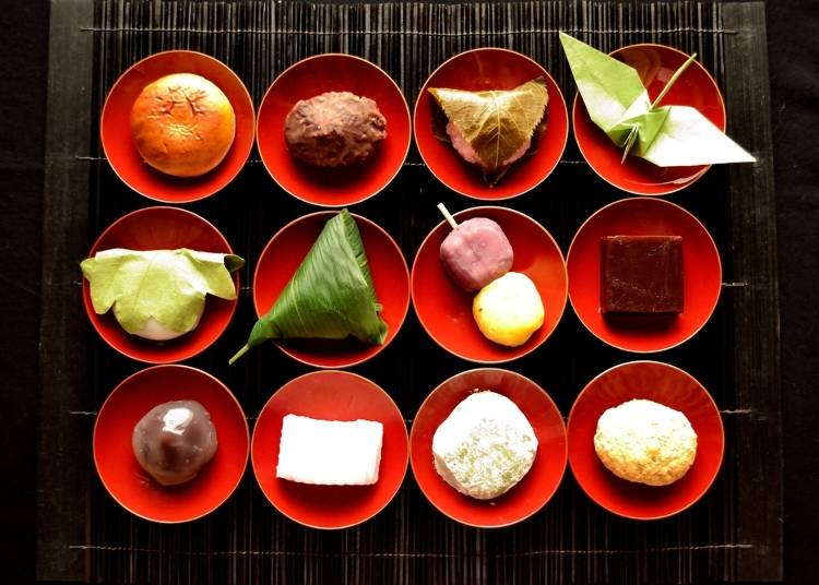 Try Japanese Sweets for Yourself!