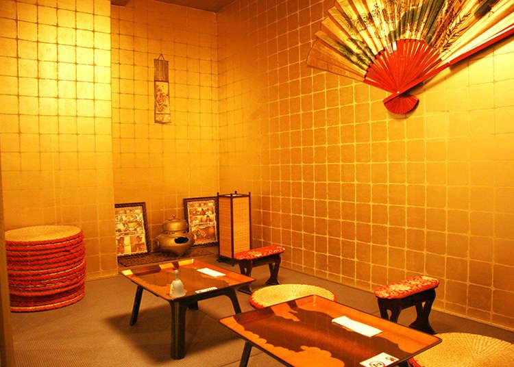2.전국시대풍의 메이드 카페에서 무장이 되어보자!