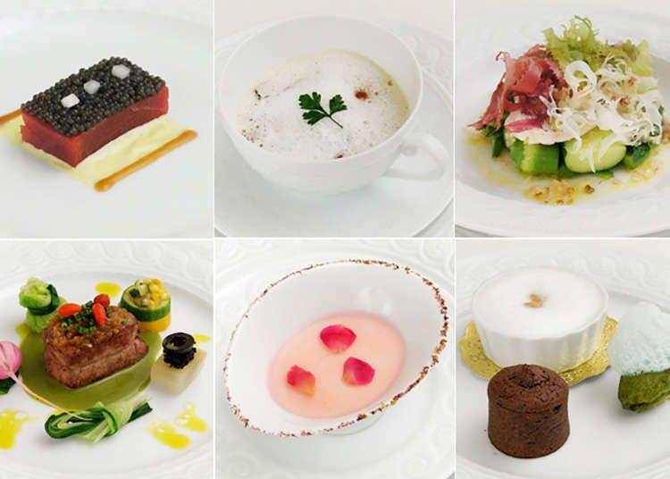 Nikmati bahan makanan semulajadi dan mewah Perancis di Ginza.