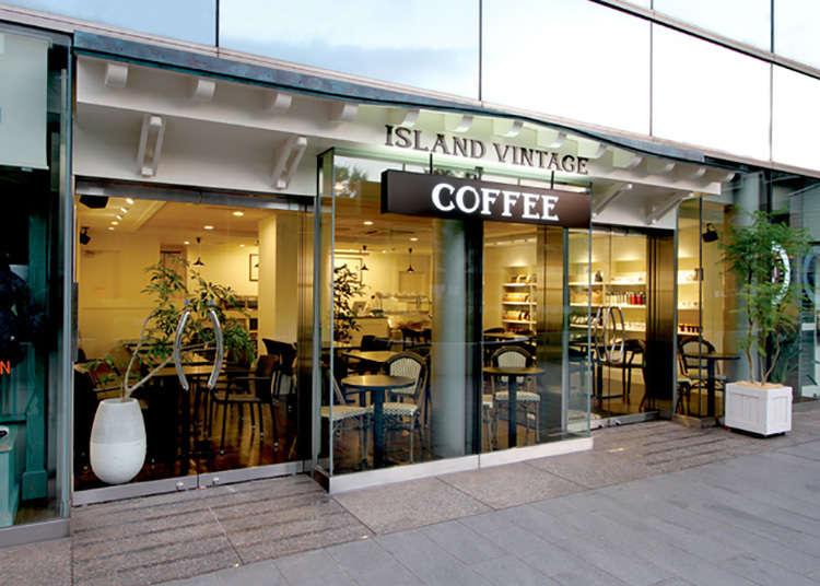 ISLAND VINTAGE COFFEE, kafe yang bernuansa Hawai
