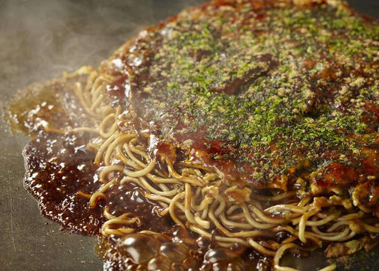 4. Monja Okonomiyaki Hachiju