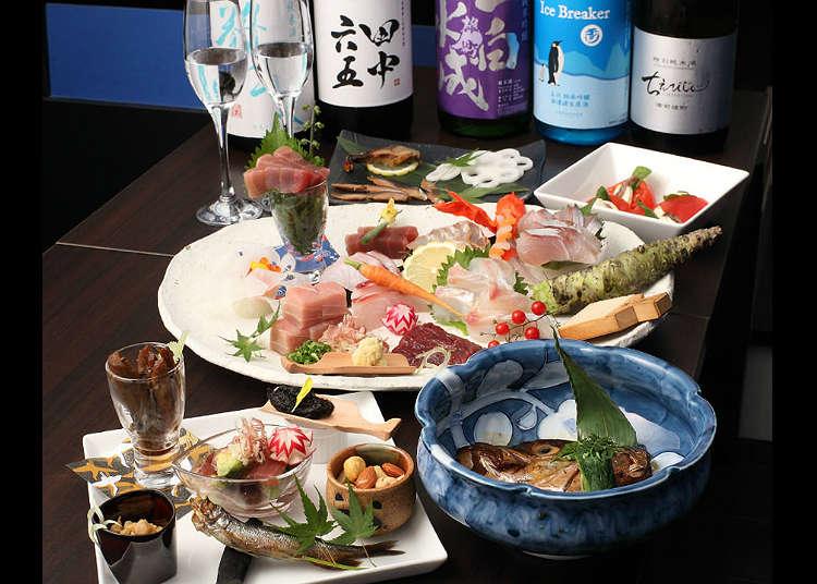 Minum Berbagai Macam Sake dari Seluruh Jepang Sepuasnya di ''My BAR SO''
