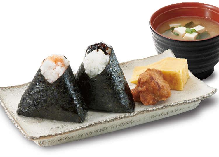 """Kedai khusus untuk """"Onigiri (nasi kepal)"""" yang mempunyai rasa seperti masakan ibu"""