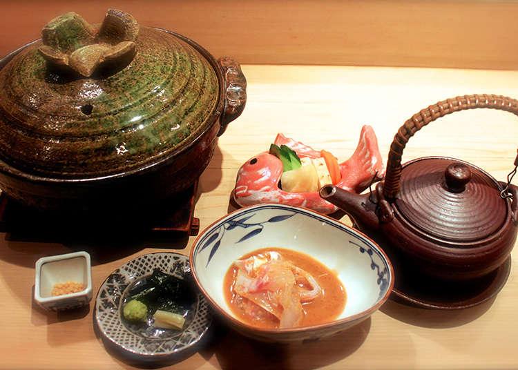 四季の食材を生かす日本料理店「帰燕」