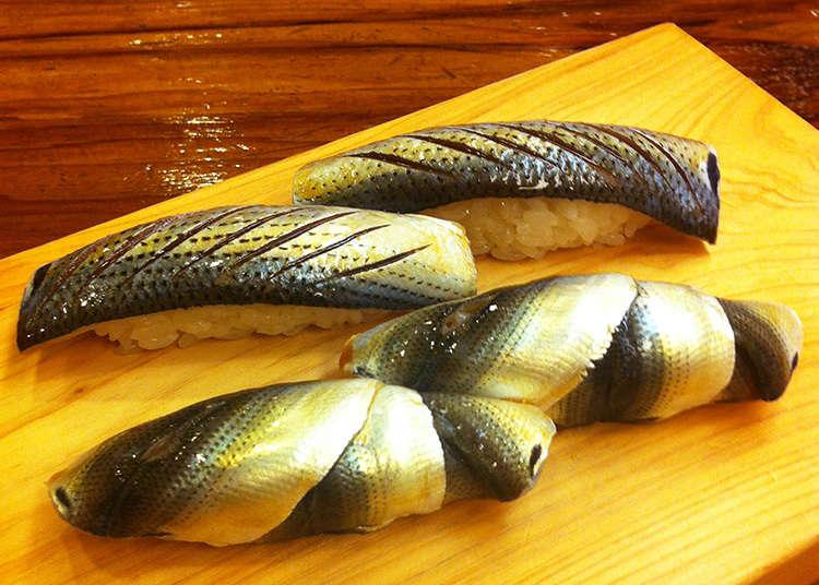 2. Yoshino Sushi: Established in 1879, a long-time local favorite