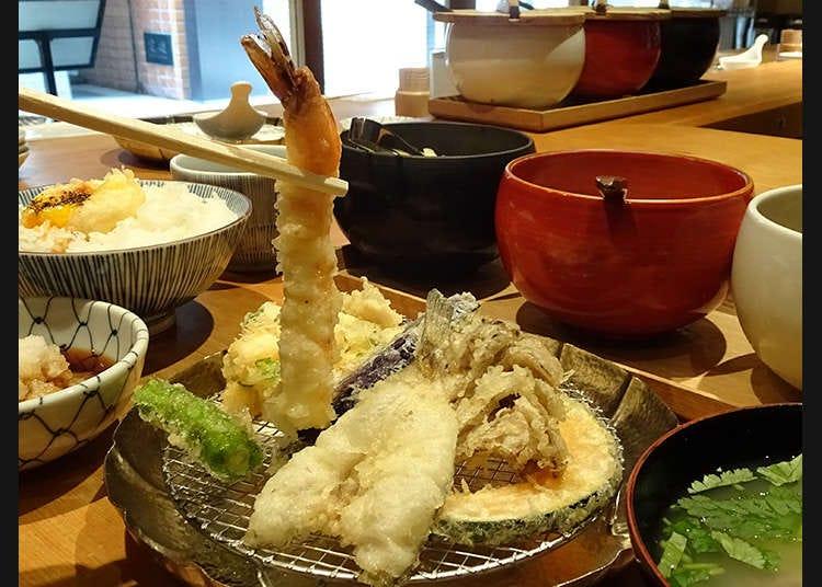 東京で食べる天ぷら