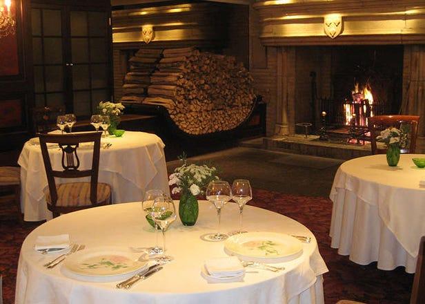 อาหารฝรั่งเศสที่รับประทานได้ในโตเกียว