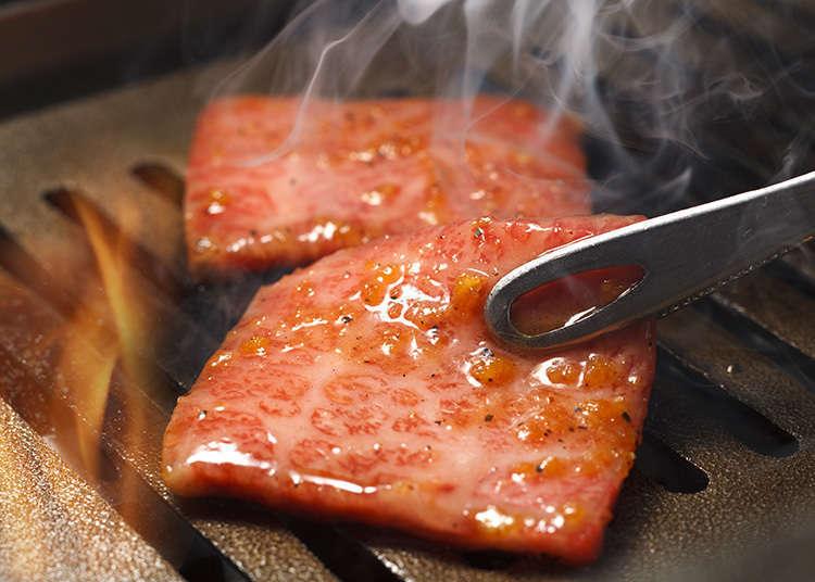在東京品嚐肉類料理