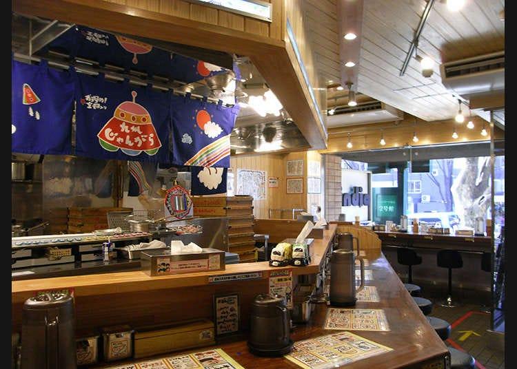 東京で食べるとんこつラーメン
