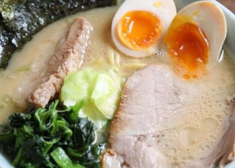 """Ciri """"Asakusa tai"""" adalah sup pekat dan rumpai laut!"""