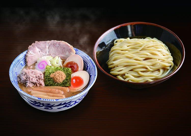"""东京蘸汁面的代表性店铺""""六厘舍"""""""
