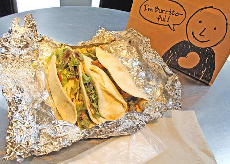 Burrito & taco asli juga terkenal di kalangan pelancong luar negara