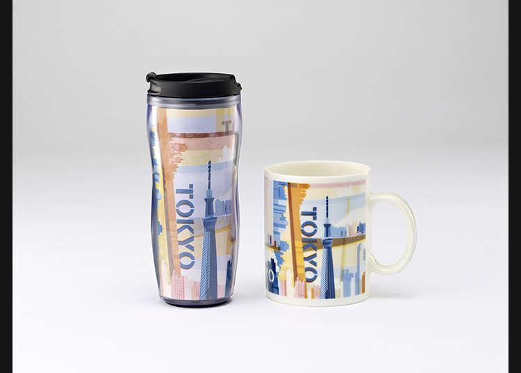 Tumbler dan mug di Starbucks