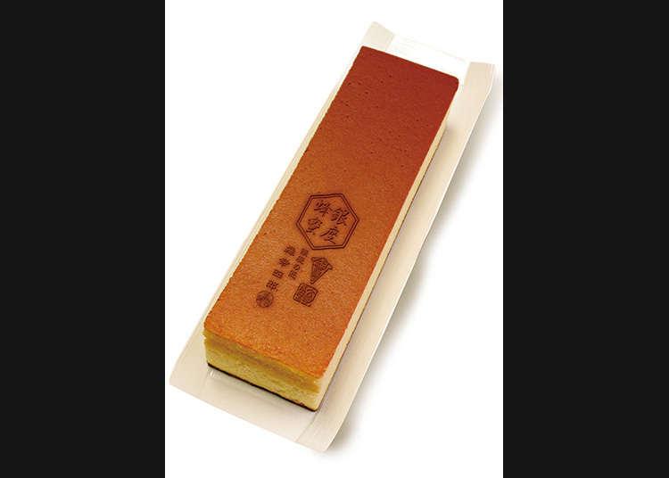 Castella sponge cake using honey from Ginza