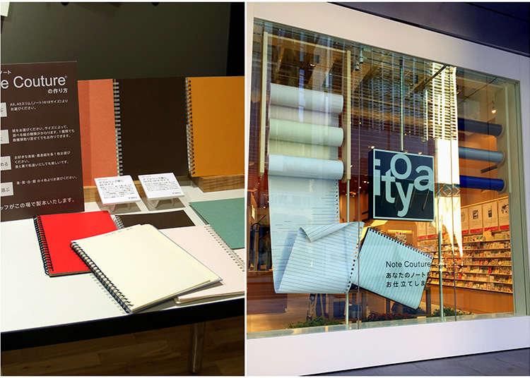 """Membuat """"buku nota"""" kegemaran di Ginza"""