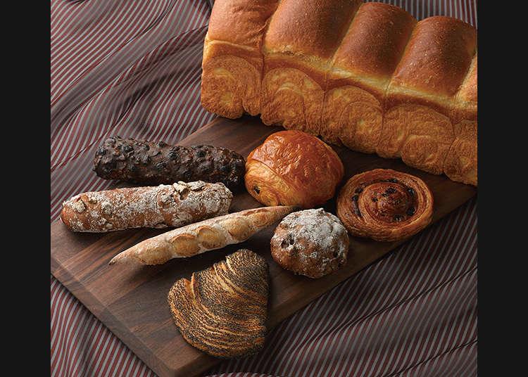 和光销售的二星级餐厅的面包