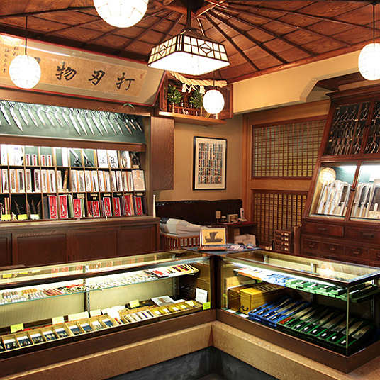 Old-established shops in Nihonbashi of more than a 100 years old